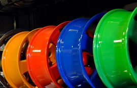 Порошковая краска для дисков – купить в необходимом объеме и исполнении